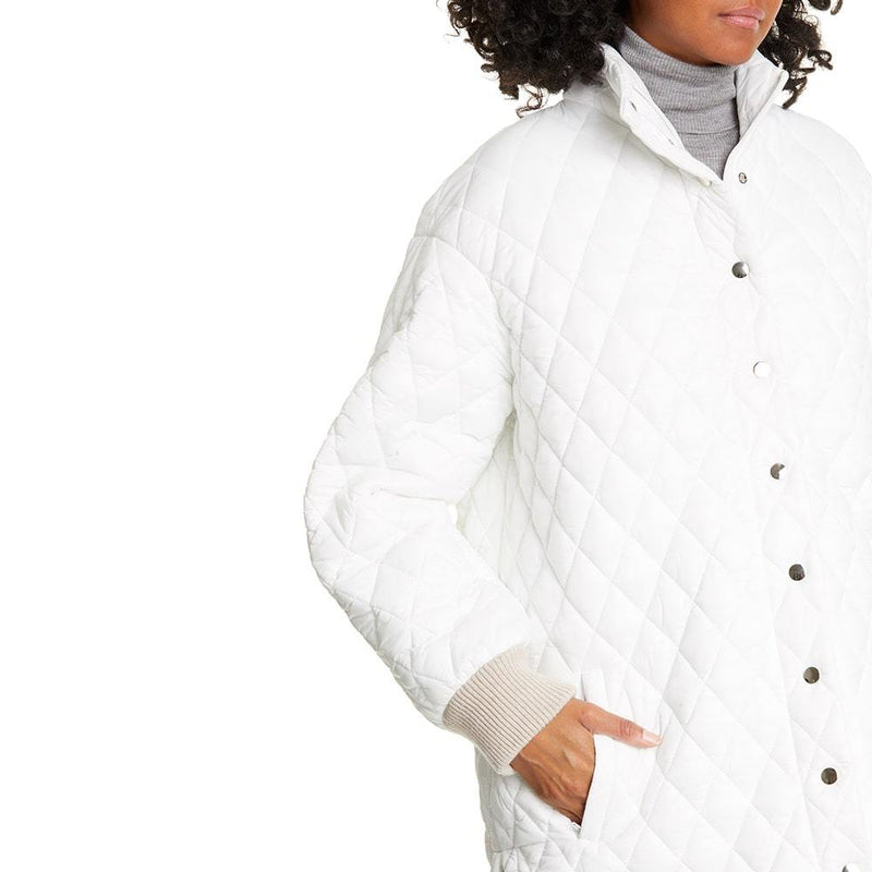 TIBI Soft Quilting Quilted Oversized Carcoat Jacket Zoom Boutique Store coat TIBI Soft Quilting Quilted Oversized Carcoat Jacket | Zoom Boutique