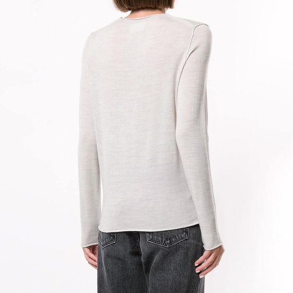 Zadig & Voltaire Gwendal Eye Embroidered Merino Wool Sweater RRP$228 Zoom Boutique Store sweater Zadig & Voltaire Gwendal Eye Embroidered Wool Sweater | Zoom Boutique