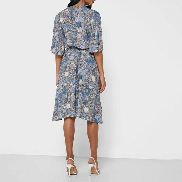 Zadig & Voltaire Rhone Wild Garden Angel Sleeve Fit & Flare Dress Zoom Boutique Store dress Zadig & Voltaire Rhone Wild Garden Angel Sleeve Dress | Zoom Boutique