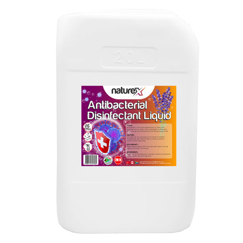 NATUREX ANTIBACTERIAL DISINFECTANT LIQUID 20L