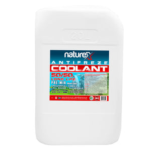 NATUREX ANTIFREEZE COOLANT PRE-MIX 50/50 LONG LIFE