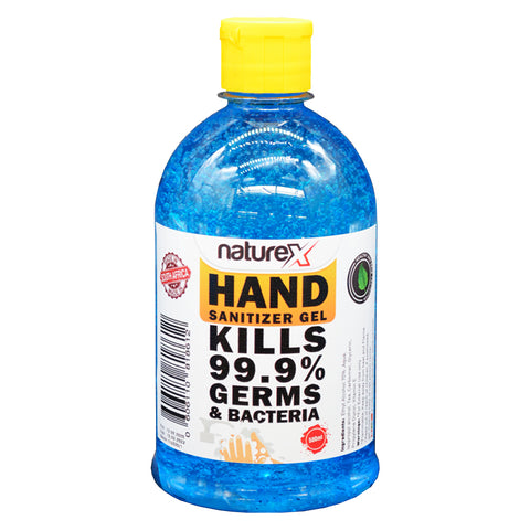 NATUREX HAND SANITIZER GEL 70% 500 ML