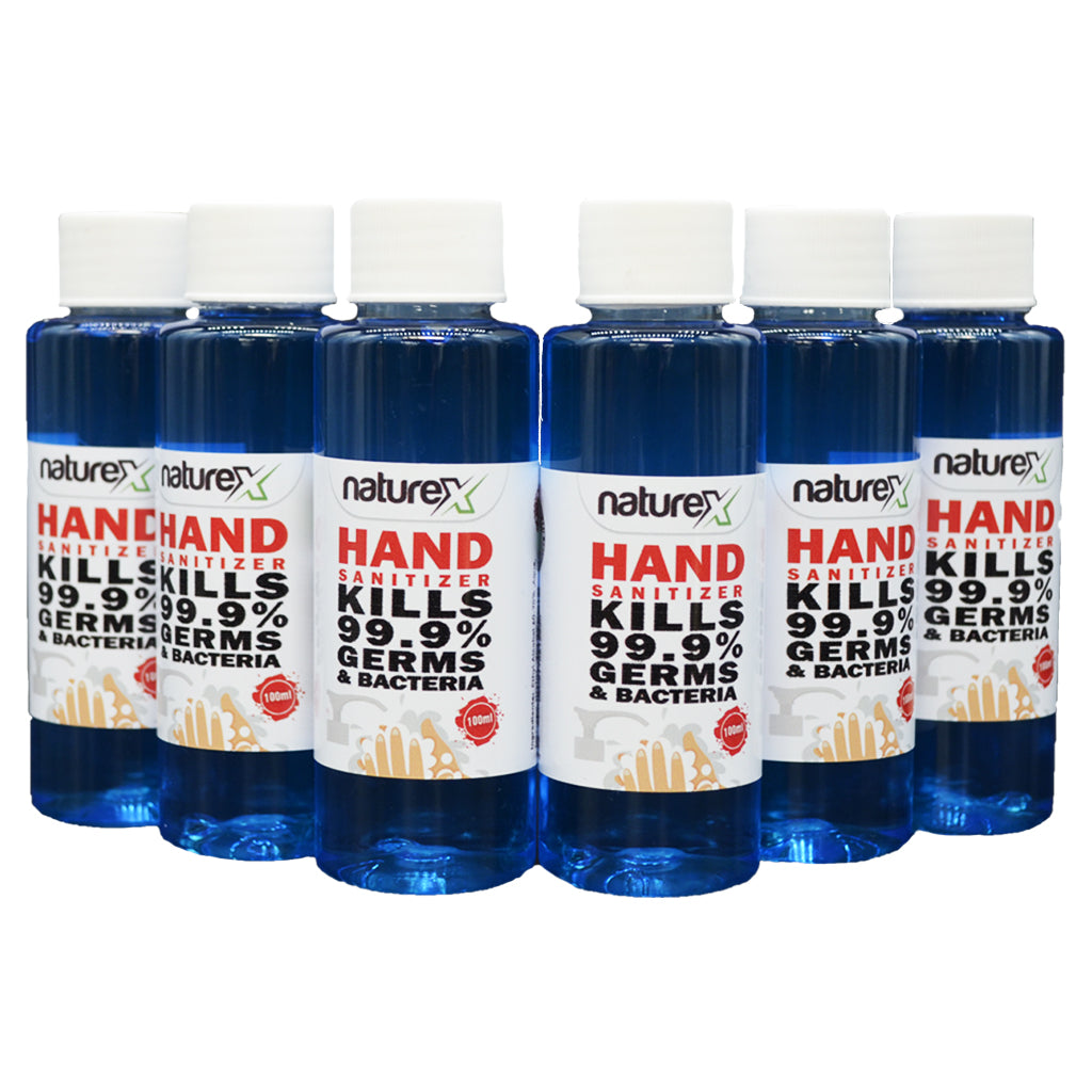 NATUREX HAND SANITIZER 70% ALCOHOL LIQUID