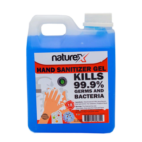 NATUREX HAND SANITIZER 70% ALCOHOL GEL- 1L