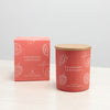 Rasberry Lemonade Candle+CORAL+9.5cm x 8.1cm