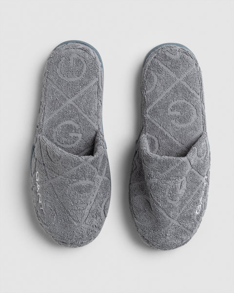 Organic G Slippers Silver L