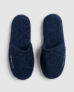 Organic G Slippers Blue L