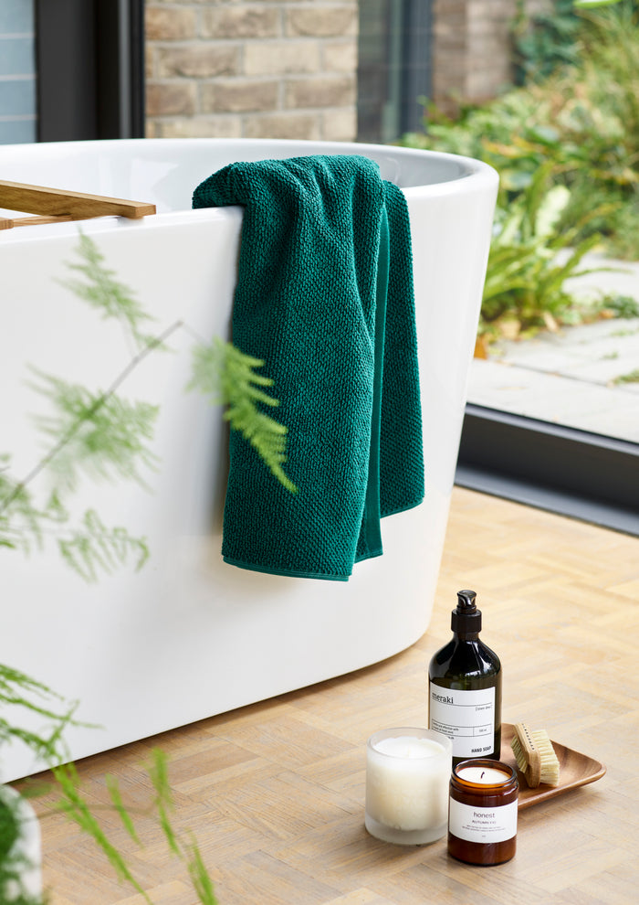 Christy Brixton Hand Towel Green 50X90CM HAND TOWEL