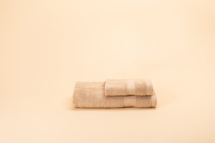 Hotel Royal Living Supima Wash Towel Beige 30X30CM