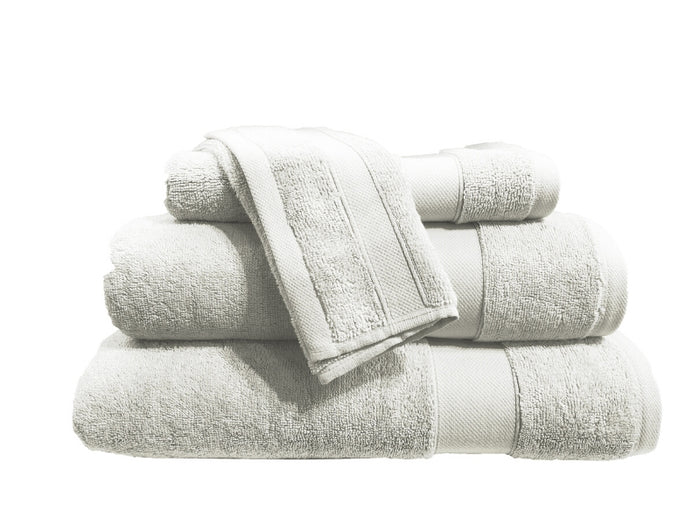 Hotel Royal Living Supima Wash Towel White  30X30CM