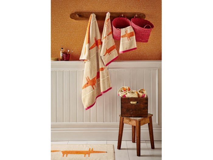MR FOX HAND TOWEL Beige 50X90CM