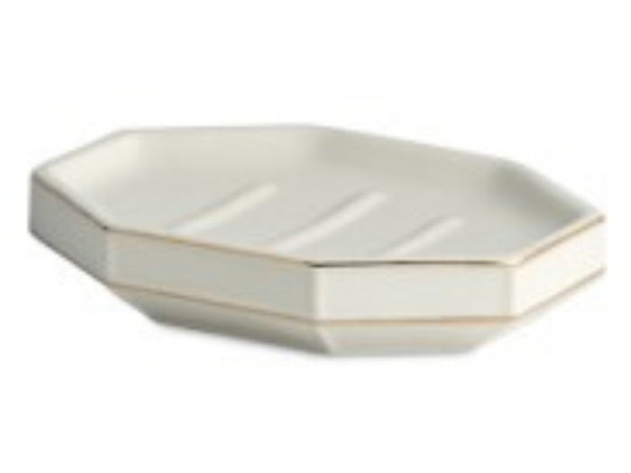 ST HONORE Soap Dish White One Size