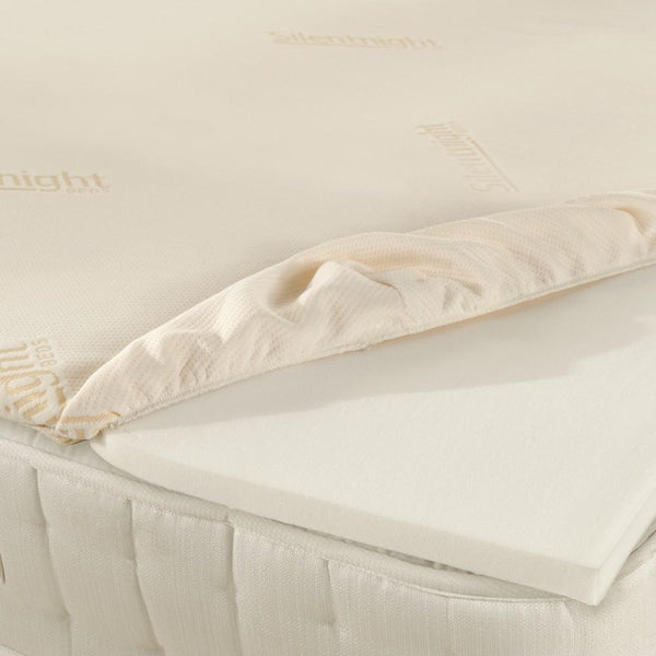 MEMORY FOAM MATTRESS TOPPER 90x200+White+90x200x5cm