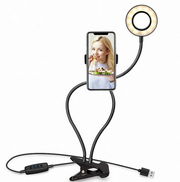 LED Selfie Ring Light with phone holder