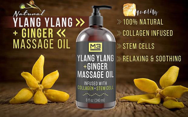 M3 Naturals Cellulite Massage Oil