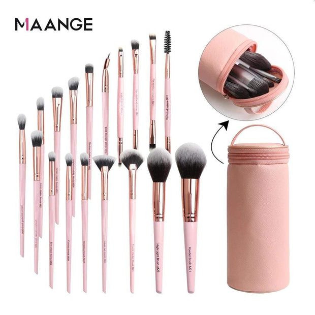 Maange Pro 18 Piece Makeup Brush Set - My EpiGLOW
