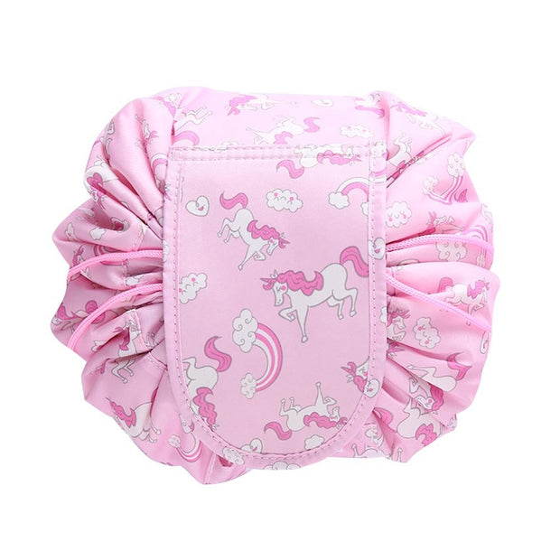 Portable Drawstring Makeup Bag