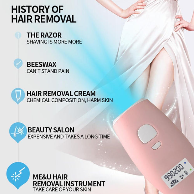 NEW Premium High Quality IPL Laser Hair Removal with 990000 Flashes - My EpiGLOW