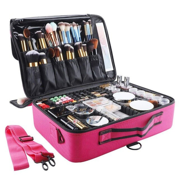 Portable Travel Cosmetic Organizer