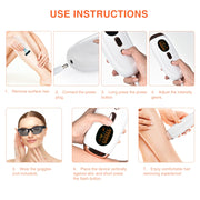Freezing Point PRO IPL hair removal
