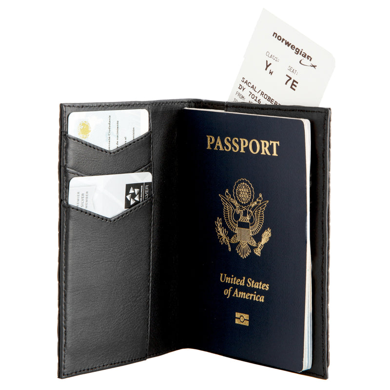 Slim passport wallet