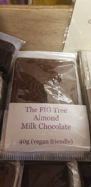 Almond Milk Chocolate 40g Bar