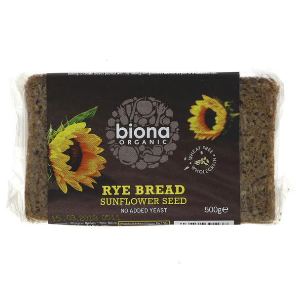 Biona Sunflower Seed Bread