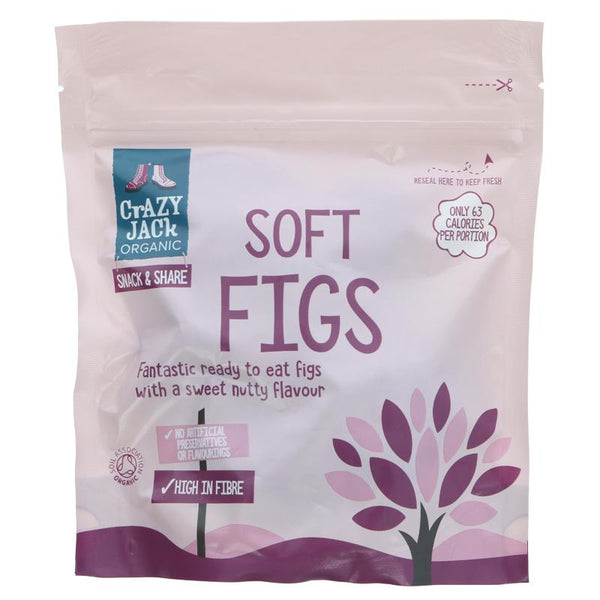 Crazy Jack Organic Soft Figs