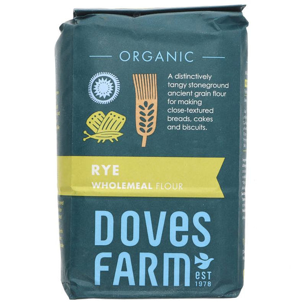 Doves Farm Rye Flour Wholegrain Organic