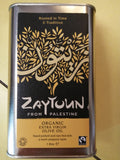 Zaytoun organic fairtrade olive oil