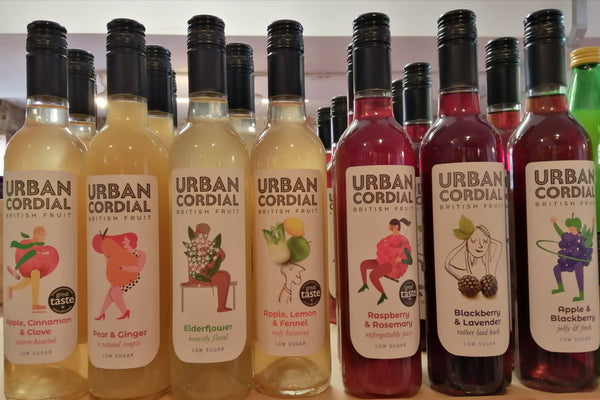 Urban Cordial Low Sugar Surplus Fruit Cordial (Various Flavours)
