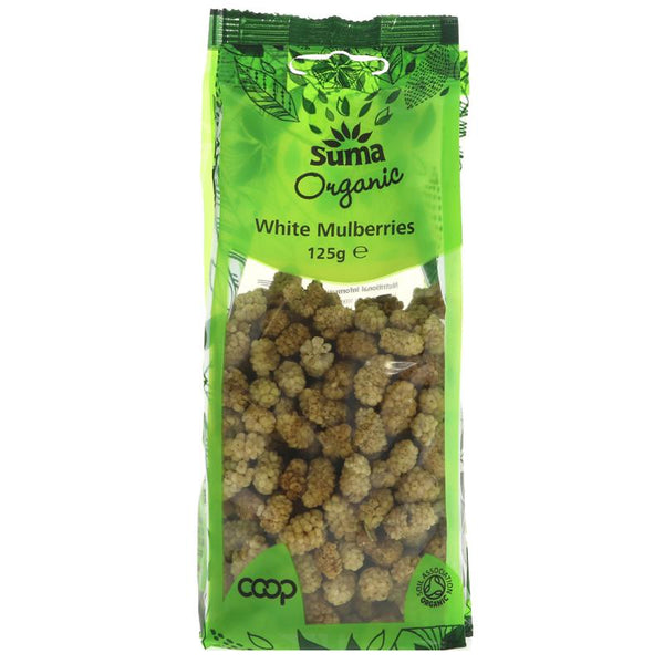 Dried mulberries, organic
