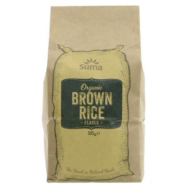 Brown Rice Flakes (Organic)