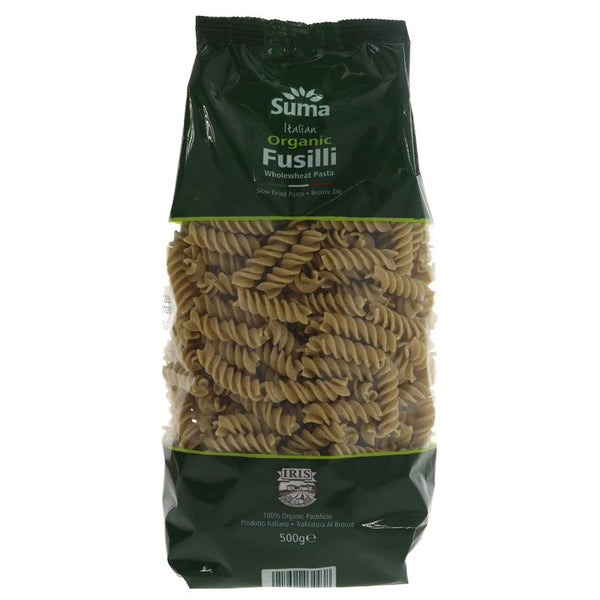 Wholewheat Fusilli (Organic)