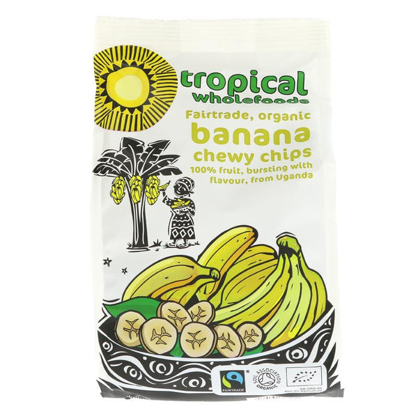 Dried banana, organic, fairtrade