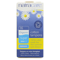 Natracare Applicator Tampons