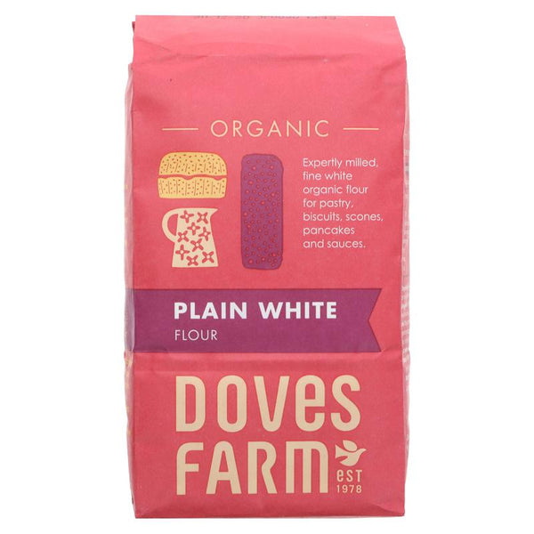 Doves Farm Organic Flour (Plain or Self-Raising)