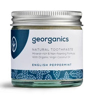 Georganics Toothpaste - Peppermint or Tea Tree