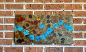 Copper patina wall art by Locals artist G. Sanford McGee