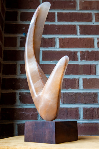 Alabaster sculpture by Locals artist Larry Todd Wilson