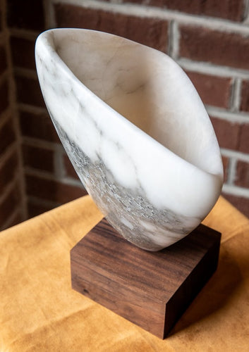 Italian alabaster sculpture by Locals artist Larry Todd Wilson