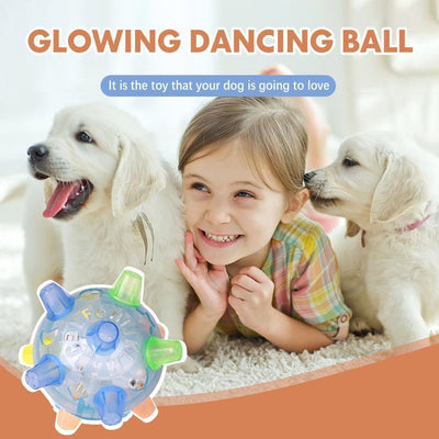 Electric Glow Jumping ball