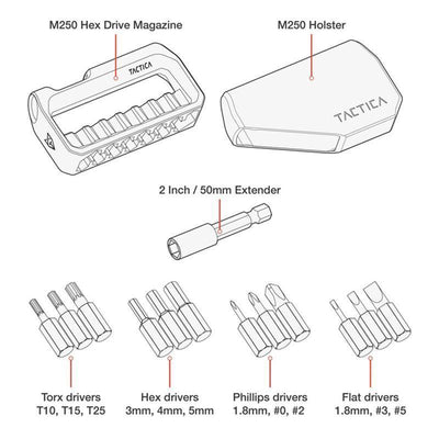M250 Hex Drive Toolkit