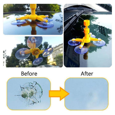 Hirundo Car Windshield Repair Kit