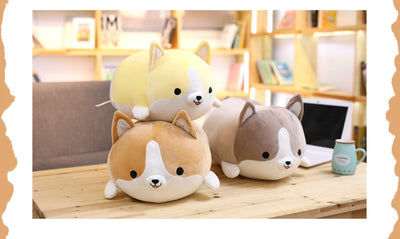 Cute Corgi Dog Plush