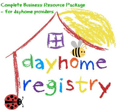 Dayhome Business Resource Package