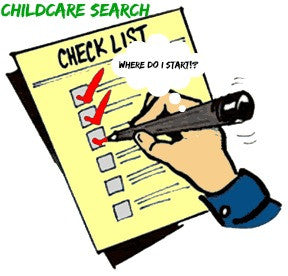 Childcare Search Check list for Parents
