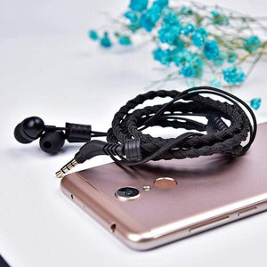 3.5mm wristband headset headphones magnetic - nerdygeektoys.com