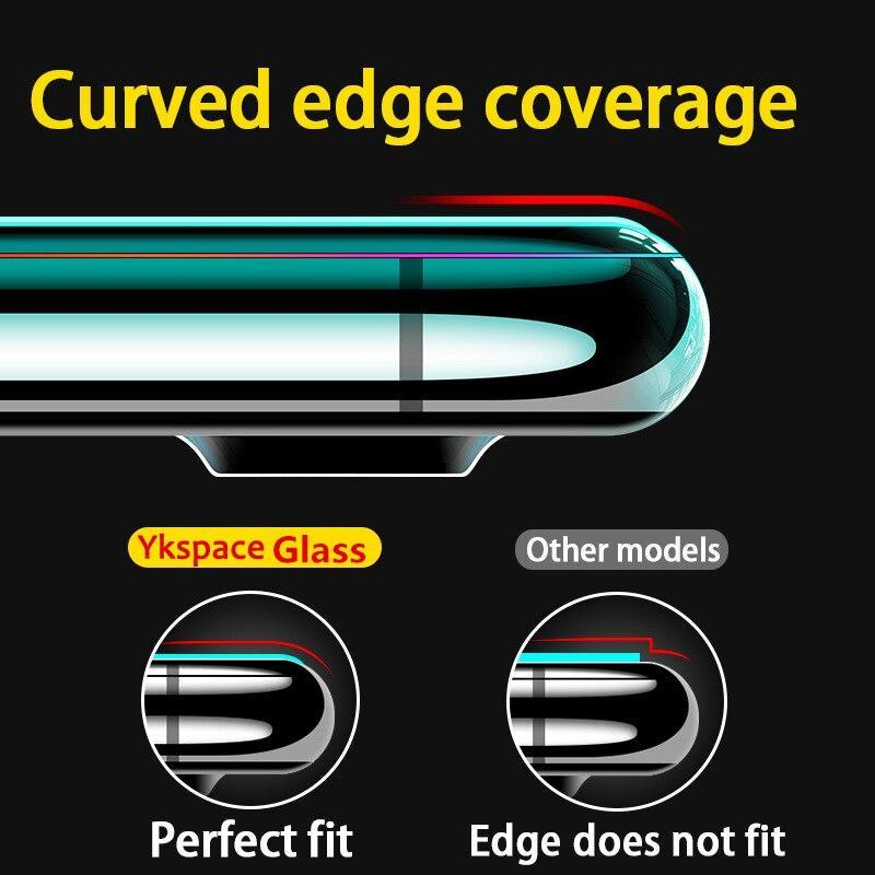 3D Curved edge Full Cover Anti Spy Privacy Screen iPhone 11 6 7 8 - nerdygeektoys.com