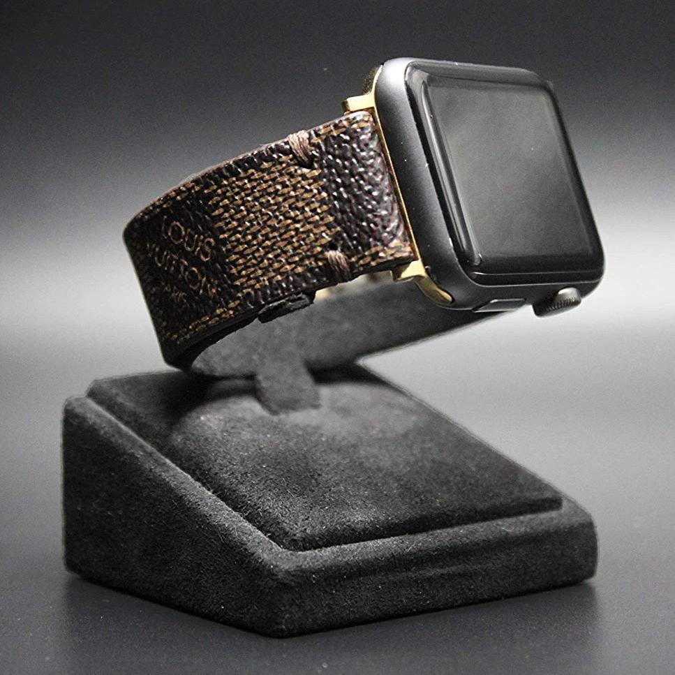 Apple Watch Band  Damier LV Monogram Brown - nerdygeektoys.com